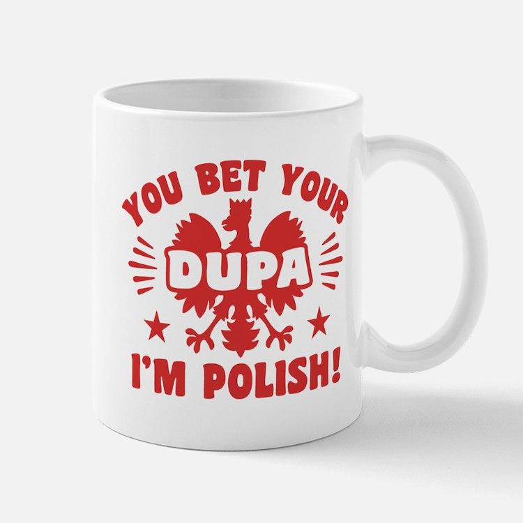 Funny Polish Dupa Small Small Mug