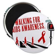 Walking for AIDS Awareness Magnet