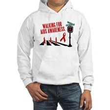 Walking for AIDS Awareness Hoodie