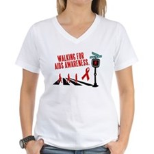 Walking for AIDS Awareness Shirt