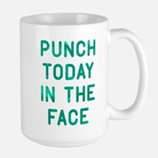 Punch Today Large Mug