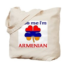 Kiss Me I'm Armenian Tote Bag