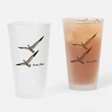 Snow Geese in Flight Drinking Glass