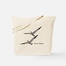 Snow Geese in Flight Tote Bag