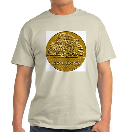 Genealogy Ash Grey T-Shirt