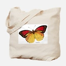 Red Yellow Butterfly Tote Bag