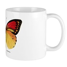 Red Yellow Butterfly Mug