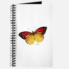Red Yellow Butterfly Journal