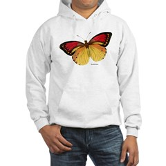 Red Yellow Butterfly Hoodie