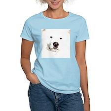 Samoyed Face T-Shirt
