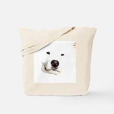 Samoyed Face Tote Bag