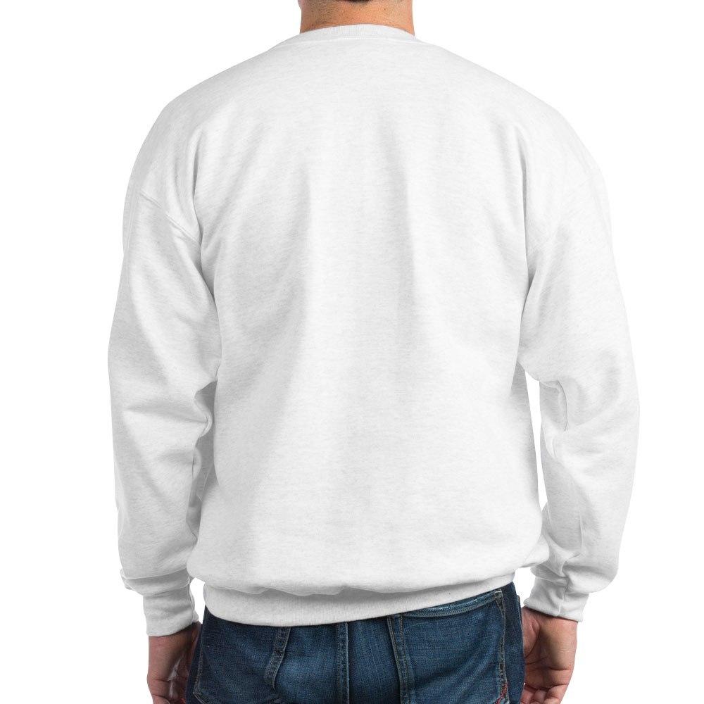 Classic Crew Neck Sweatshirt CafePress Samoyed Face