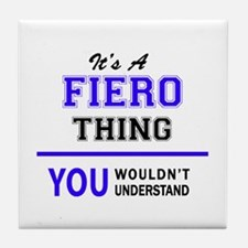 FIERO thing, you wouldn't understand! Tile Coaster