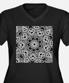Shades of Grey Plus Size T-Shirt