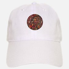 Paul Klee Red Nature Abstract Forest Baseball Baseball Baseball Cap