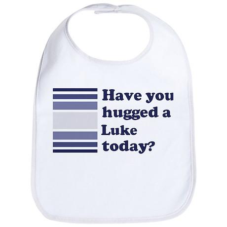 Hugged Luke Bib