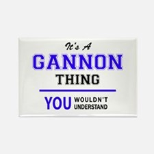 GANNON thing, you wouldn't understand! Magnets