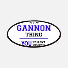 GANNON thing, you wouldn't understand! Patch