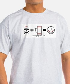 Grilling + Beer = Happy T-Shirt