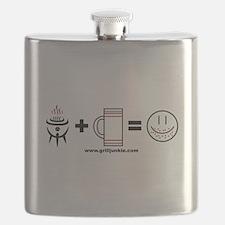 Grilling + Beer = Happy Flask