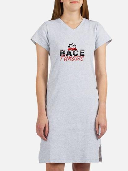 Auto Race Fanatic Women's Nightshirt
