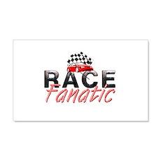 Auto Race Fanatic Wall Decal