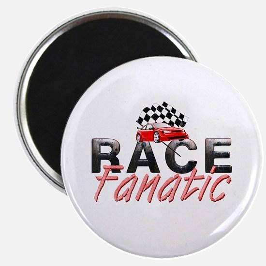 Auto Race Fanatic Magnet