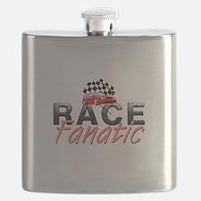Auto Race Fanatic Flask