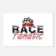 Auto Race Fanatic Postcards (Package of 8)
