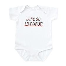 LINE DANCE! DESIGN #1 Infant Creeper