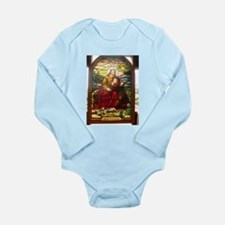stained glass Jesus Body Suit