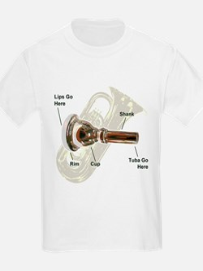 Tuba Go Here T-Shirt