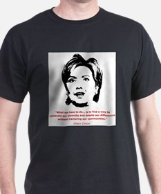 Hillary Clinton Quotes Ash Grey T-Shirt