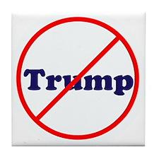Anti Trump, Dump Drumpf, no Trump Tile Coaster
