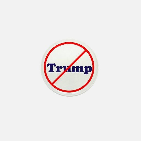 Anti Trump, Dump Drumpf, no Trump Mini Button