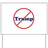 No trump Yard Signs