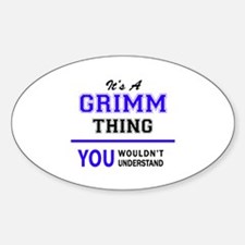 GRIMM thing, you wouldn't understand! Decal