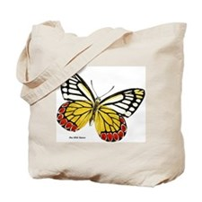 Red Dots Butterfly Tote Bag