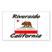 Riverside California Rectangle Decal
