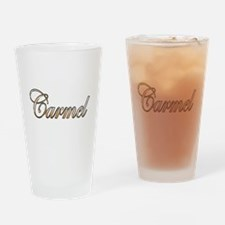 Cute Carmel Drinking Glass