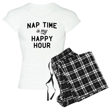 Nap Time Is My Happy Hour Women's Light Pajamas