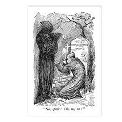 Scrooge's Grave Postcards (Package of 8)