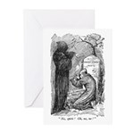 Scrooge's Grave Greeting Cards (Pk of 20)