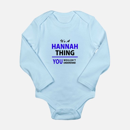 HANNAH thing, you wouldn't understand! Body Suit