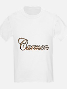 Gold Carmen T-Shirt