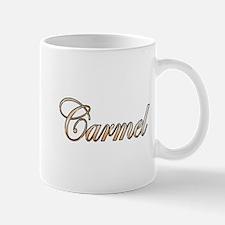 Gold Carmel Mugs