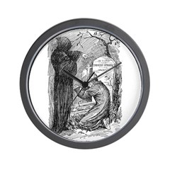 Scrooge's Grave Wall Clock