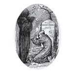 Scrooge's Grave Oval Ornament