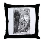 Scrooge's Grave Throw Pillow