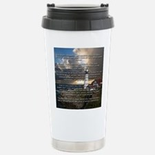 Footprints in the Sand Stainless Steel Travel Mug